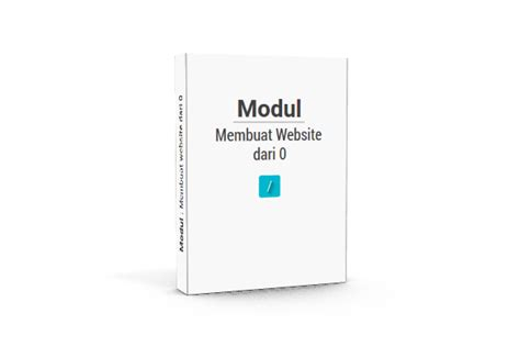 modul membuat website dengan php pdf kumpulan modul materi pembelajaran tutorial membuat