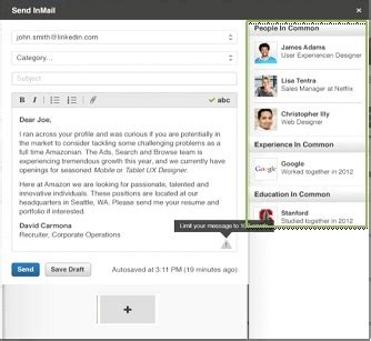 linkedin inmail templates for recruiters 3 linkedin recruiter enhancements to increase your
