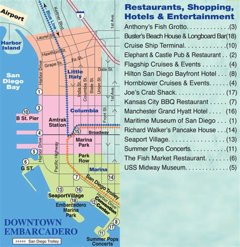 san francisco map embarcadero top of the market seafood restaurant serves delicious