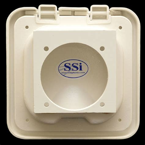 boat battery box with switch ssi custom white 5 1 2 x 5 1 2 inch marine boat battery