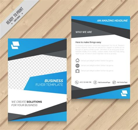 Free Flyer Templates 38 Free Pdf Psd Ai Vector Eps Format Download Free Premium Templates Free Simple Brochure Templates