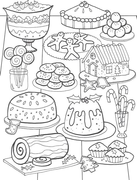 hard coloring pages cute food coloring pages 47 best christmas coloring pages images on pinterest