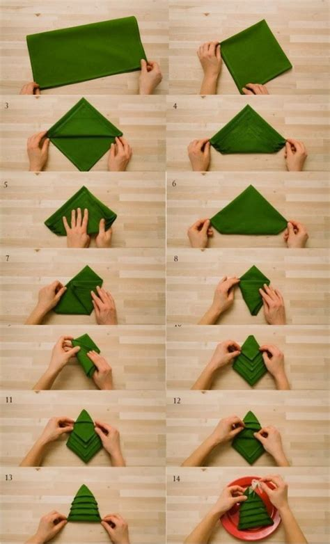 Paper Napkin Folding Directions - napkin fold for decorating ideas and