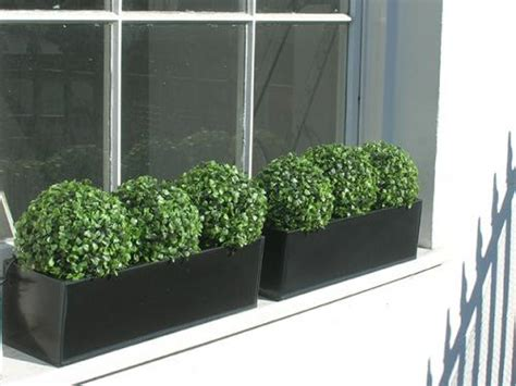 artificial window boxes artificial boxwood hedge for window box factory direct