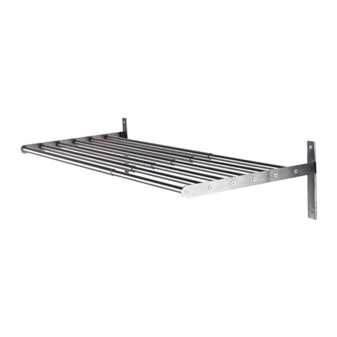 Drying Rack Stainless Steel grundtal drying rack wall stainless steel 67 120 cm