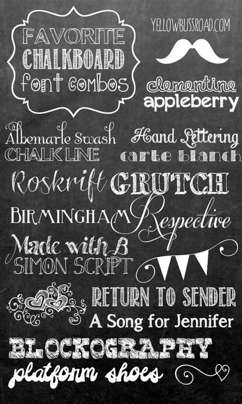 printable font maker how to make your own printable chalkboard sign font