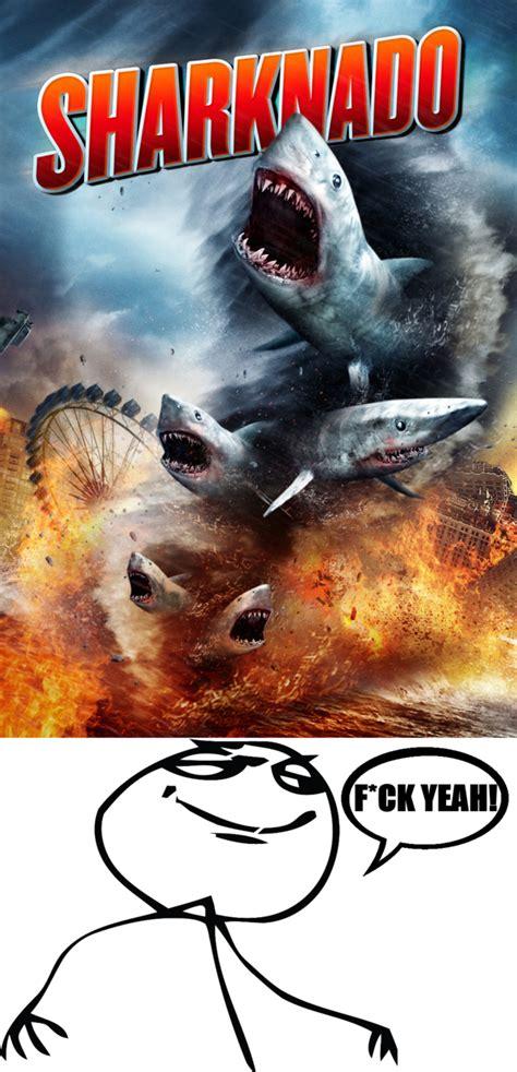 Sharknado Meme - my reaction sharknado meme by nickanater1 on deviantart