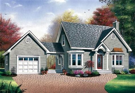 bungalow cape cod house plan 65285 house