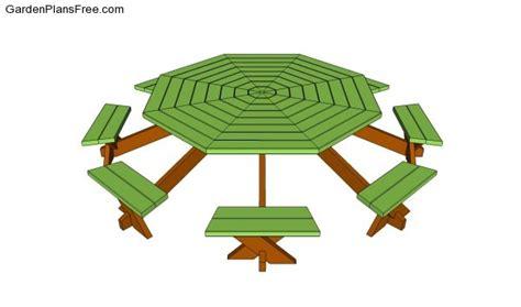 octagon patio table plans octagon patio table plans free image mag