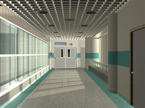 Hospital Hall by triller14 on DeviantArt