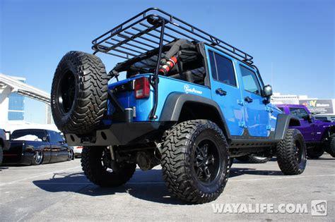 Blue 4 Door Jeep 2012 Sema Blue 4 Door Jeep Jk Wrangler