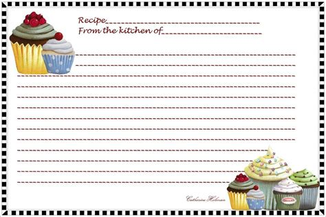 Fillable Index Card Template by Fillable Recipe Card Template Shatterlion Info