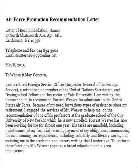 letter for promotion recommendation 7 sle promotion recommendation letter free sle