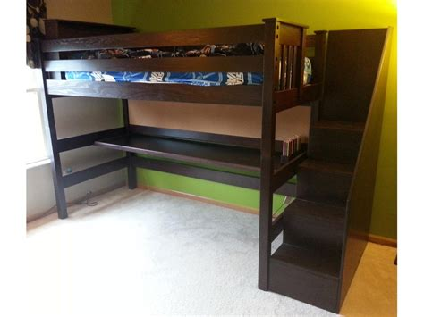 stair loft bed with desk preciousness ideas loft bed with stairs home design