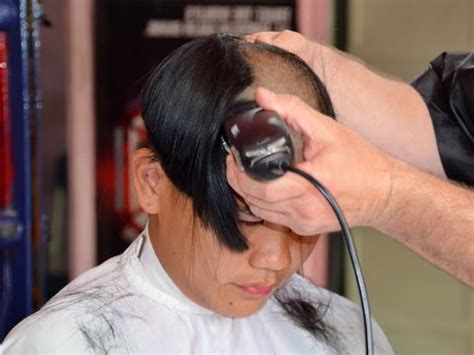 girls getting forced haircuts young woman s forced haircut