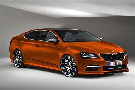 skoda coupe skoda superb coupe sport by unlimited concept on deviantart