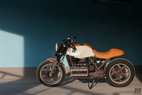 Craftsman Home Design by Bmw K100 Cafe Racer By Z17 Customs Bikebound