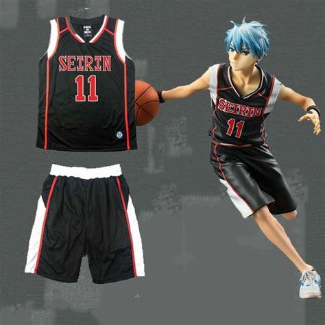 Jersey Seirin 11 Kuroko Tetsuya anime kuroko s basket seirin school 11 kuroko tetsuya black basket jersey team kuroko