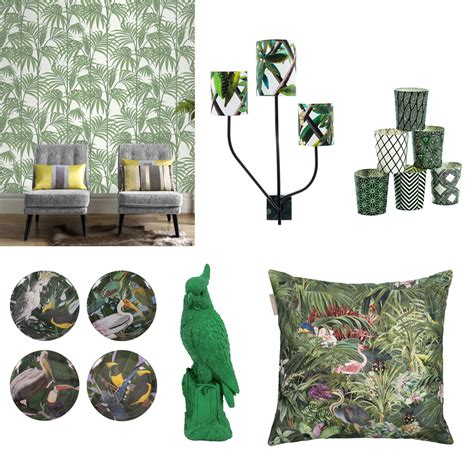 Ambiance Jungle Tropicale by Decoration Exotique 3 Styles D 233 Coration