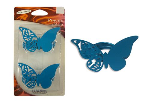 Pince Rideau Papillon by Lot De 2 Pinces 224 Rideau Forme Papillon Pince Rideau