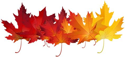clipart autunno autumn leaves clip cliparts