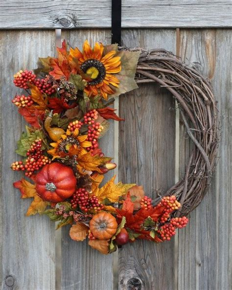 fall wreath craft ideas craftiness pinterest