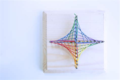 Geometry String Project - math idea explore geometry through string