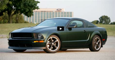 ford special edition cars ford mustang bullitt special edition