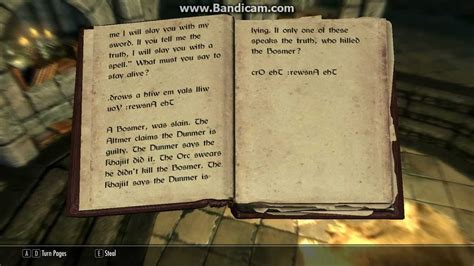 i a book of picture riddles answers skyrim read aloud yellow book of riddles