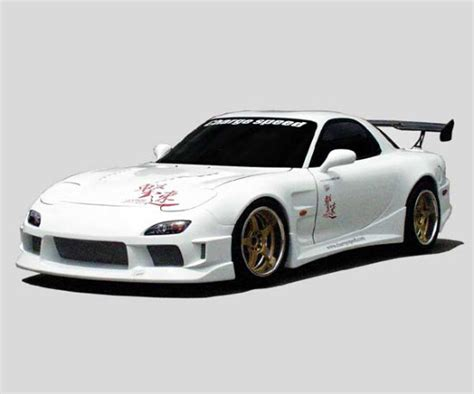 widebody rx7 chargespeed mazda rx7 wide body full kit in 1993 2004