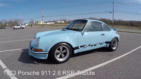 1973 rsr porsche 1973 porsche 911 2 8 rsr tribute