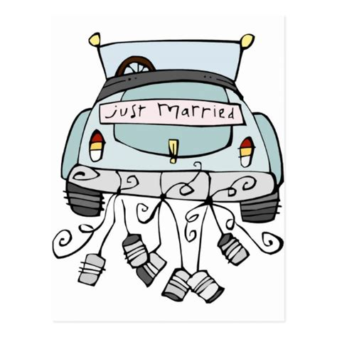 Just Married Auto Clipart by Just Married Car Clipart Www Pixshark Images