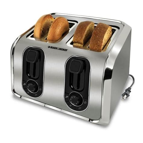 Home Outfitters Toasters black and decker toaster back to
