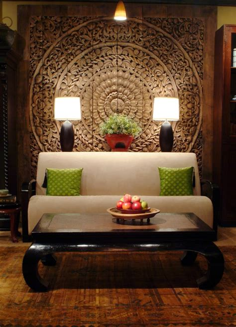 sophisticated oriental living room design ideas