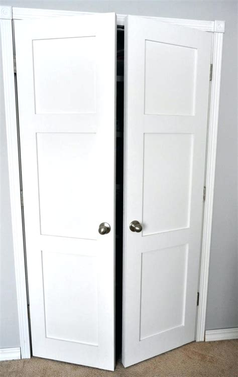 Sliding Closet Doors At Home Depot Exteriors Magnificent Replace Bifold Closet Doors Regular Doors