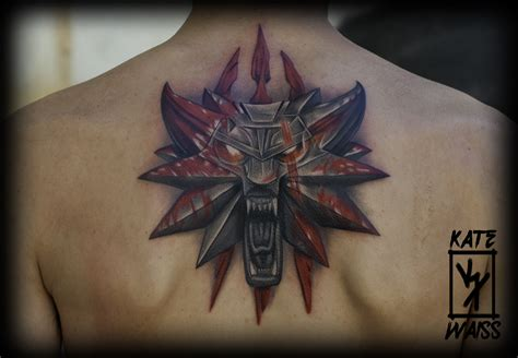 witcher tattoo the witcher logo tattoos