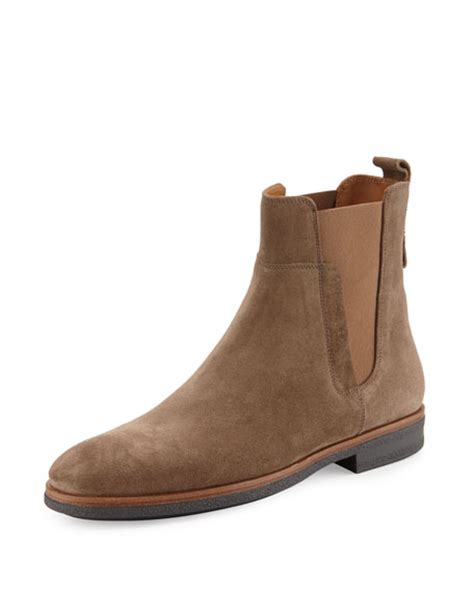 light brown chelsea boots men s boots chelsea chukka boots at neiman marcus