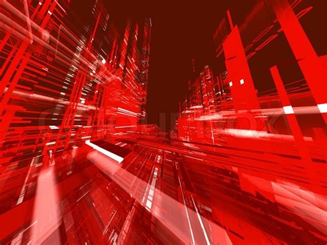 Graphic Design Jobs From Home by Abstract Red Technological Urban Luminous Background With