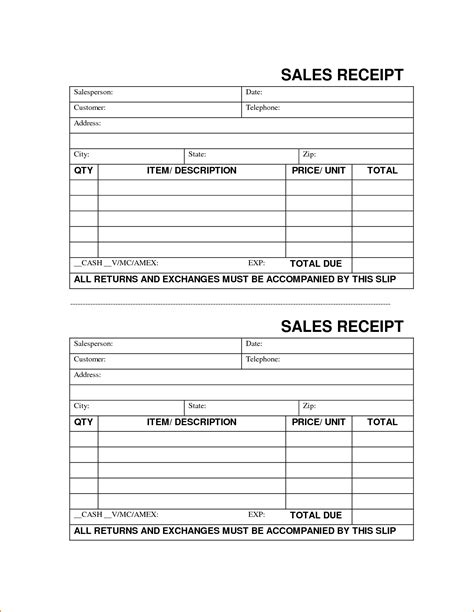 downloadable sales receipt template printable receipt templates portablegasgrillweber