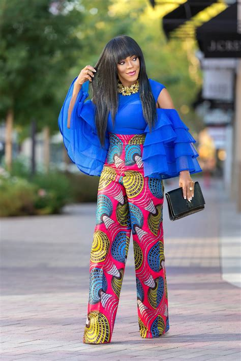 ankara top on trousers lovely ankara pants and top styles afrocosmopolitan