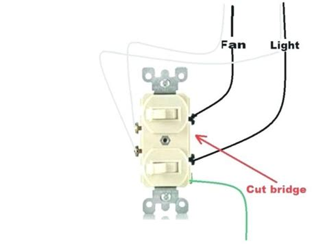 wire  dual light switch