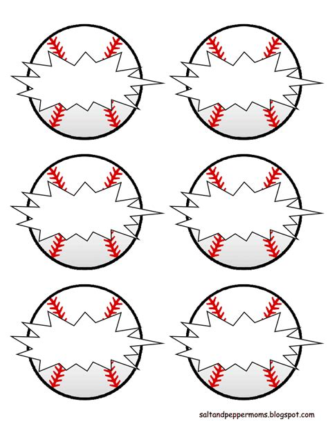 match cards tag team template baseball snack tags pdf drive diy