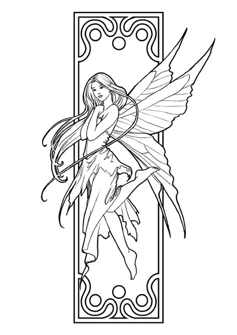 wood fairy coloring page pin by paulina bagrowska on coloring pages pinterest