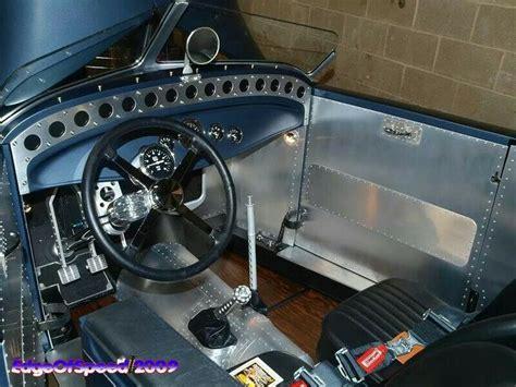 street rod upholstery all metal hot rod interior auto interiors pinterest