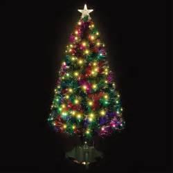 5ft fibre optic comet green christmas tree ebay