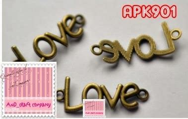 Kalung Gelang Keylove jual charm and s crafts