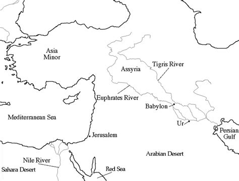 mesopotamia map coloring page map of ancient mesopotamia worksheet the best and most