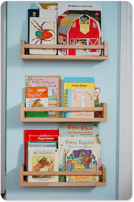 spice racks for bookshelves this idea a repurposed book storage solution from ikea
