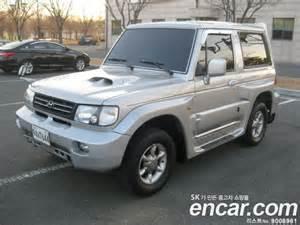 used cars 2002 hyundai galloper 2 innovation