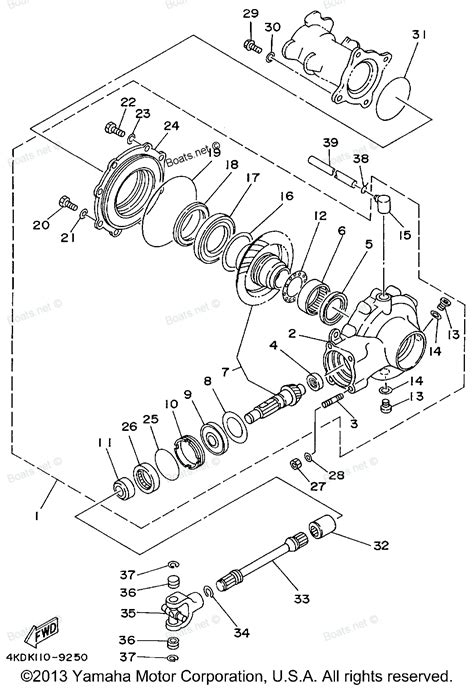 diagram of drive shaft 1999 timberwolf 2wd yfb250fwl yamaha atv drive shaft